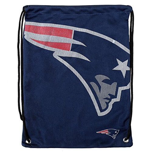 FOCO New England Patriots 2015 Jersey Drawstring Backpack (Nba Jersey Backpack)