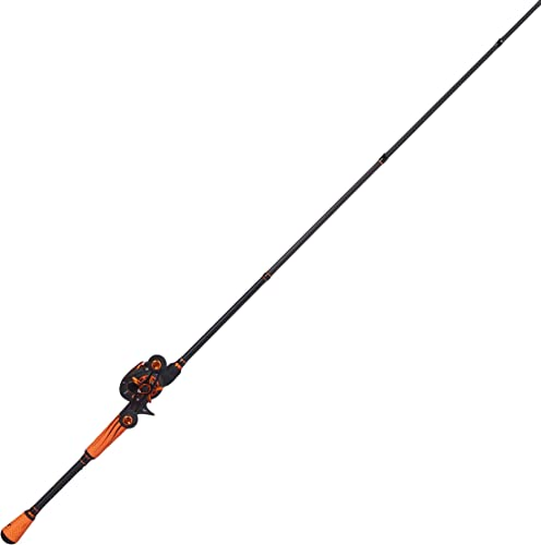 LEW S FISHING Mach Crush Speed Spool SLP Combo, Baitcast Combo, Baitcasting Reel, Fishing Reel and Fishing Rod, Fishing Gear and Equipment, Fishing Accessories MC1SH70MH