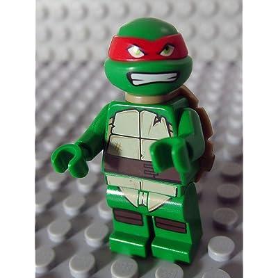 LEGO Minifig Teenage Mutant Ninja Turtles_008 Raphael_A: Toys & Games
