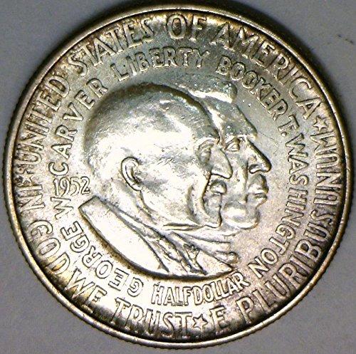 1952 P Washington-Carver Half Dollar Choice BU ()