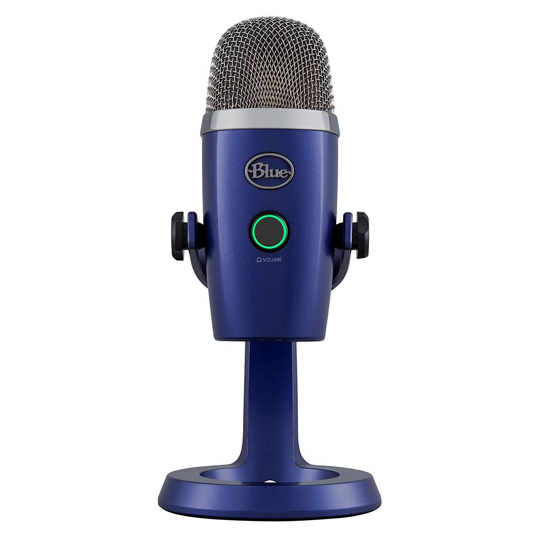 Blue Yeti Nano Premium USB Mic para grabación y transmisión - Vivid Blue
