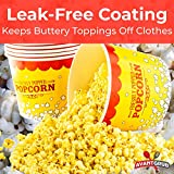 Premium Leak-Free 85 Oz Disposable Popcorn Tub By
