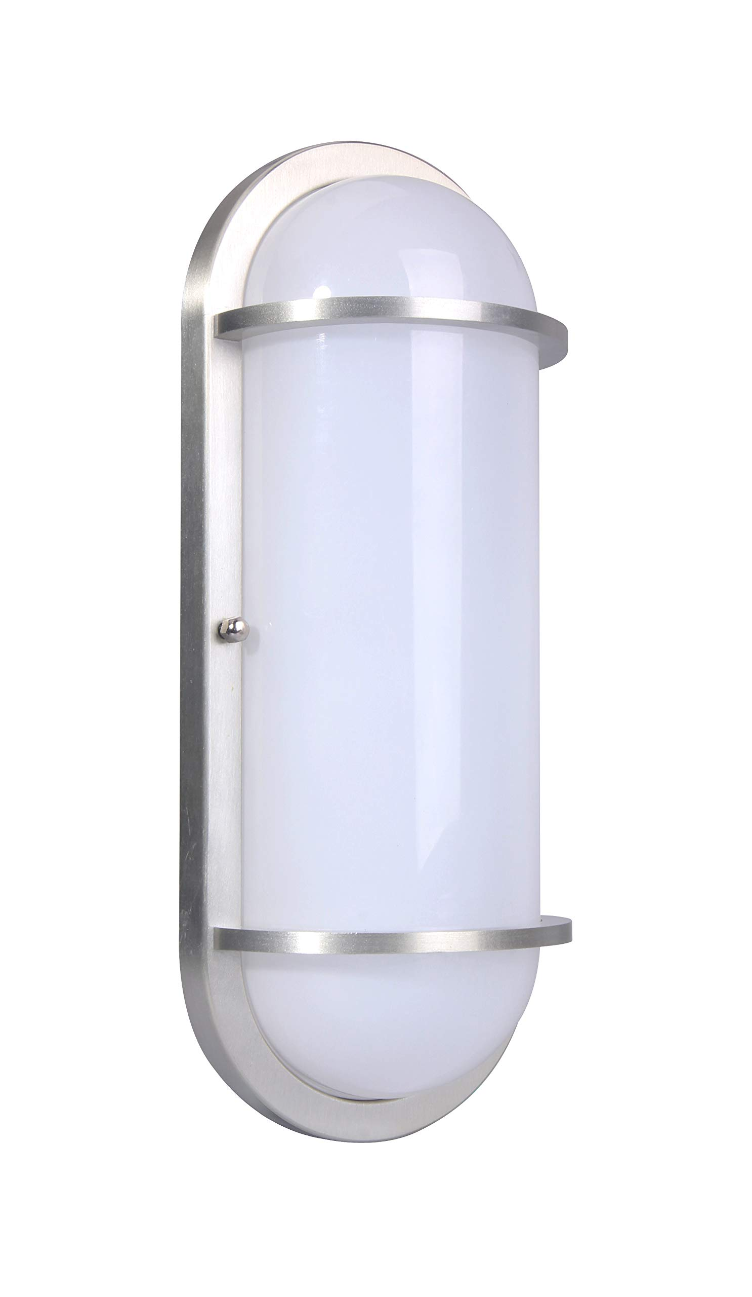 LIT-PaTH Outdoor LED Bulkhead Light Worked as Wall Lantern Wall Sconce or Flush Mount Ceiling Light, 12W Replace 100W, 1000 Lumen, 5000K Daylight White, Water-Proof, ETL and ES Qualified