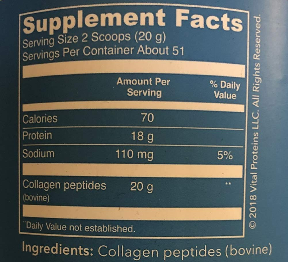 Vital Proteins Collagen Peptides, 36 oz by Vital Proteins (Image #4)