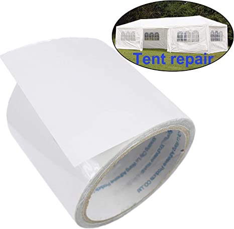 Clear Camping Tent Repair Tape Invisible Tenacious Adherence Tape for Canopy