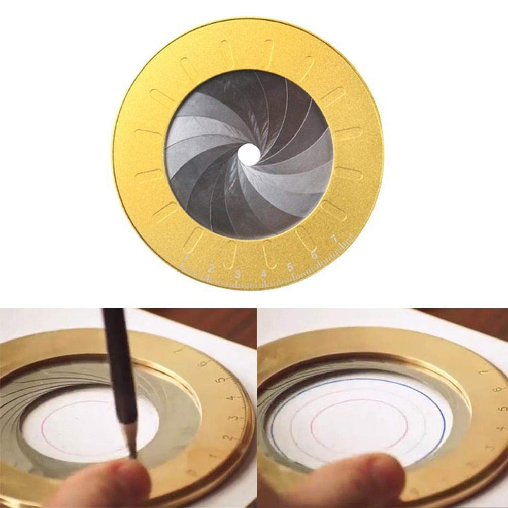 Reatzhen Circle Drawing Tool, Adjustable Small Drawing Tools for Designer Woodworking Enthusiasts by Reatzhen
