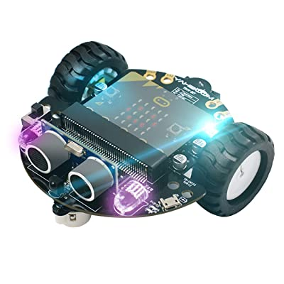 Yahboom Super Starter Robot Kit for Micro:bit Learning Coding STEM Education Science Kit for Kids(Microbit not Include): Health & Personal Care