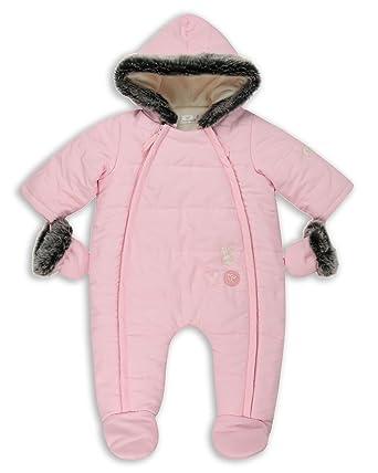 76232ec3e Amazon.com  The Essential One - Baby Girls Snowsuit Bundler   Pram ...