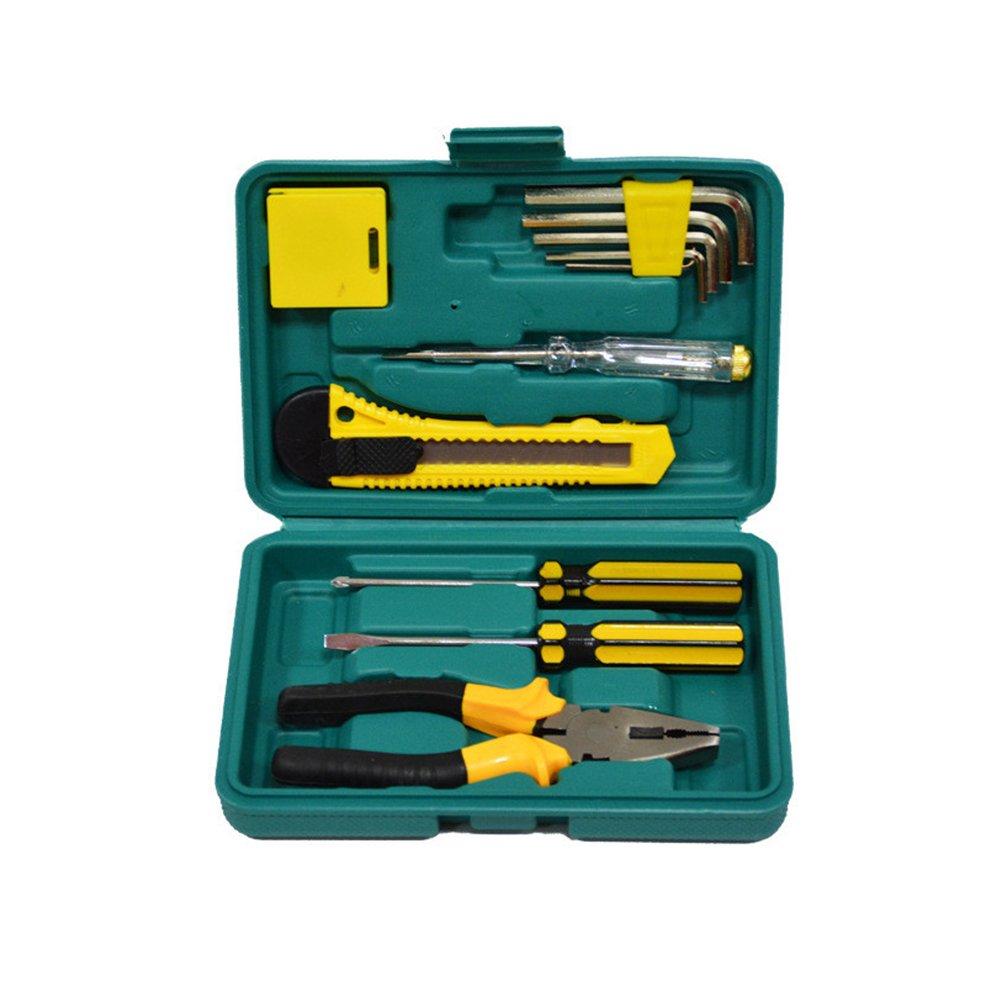 WINOMO 11Pcs Multi-functional Repair Tool Set Screwdriver Hammer for Car Household