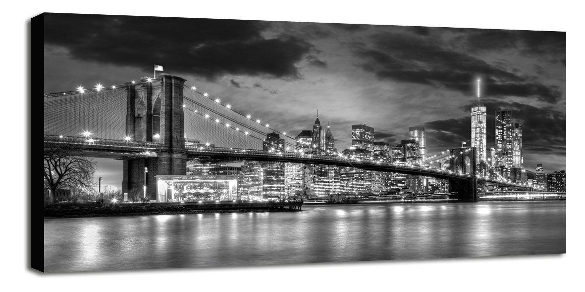 Engardo 60NY78 Canvas NY City, Multicolore, 130x3x60 cm