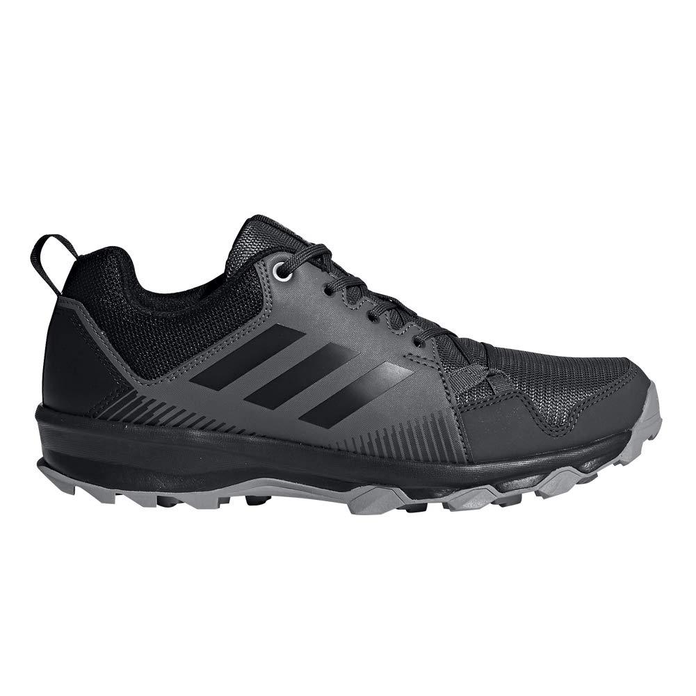 adidas outdoor Women's Terrex Tracerocker W Trail Running Shoe, Grey Five/Black/Utility Black, 7 M US
