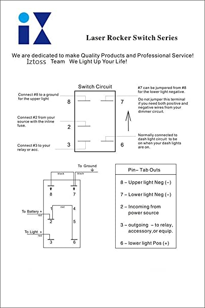 Marine Rocker Switch Wiring Diagram