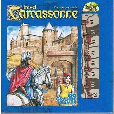 Carcassonne: Travel Edition by Rio Grande Games: Amazon.es: Juguetes y juegos