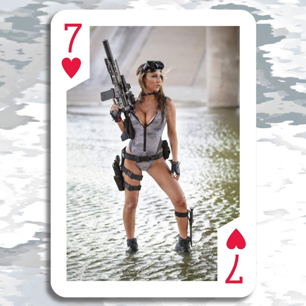 3 pack $29.99 w//S/&H Tactical Girls 2020 Calendar Playing Cards