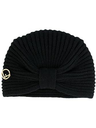 Fendi Women s FXQ635A115F0QA1 Black Wool Hat  Amazon.co.uk  Clothing b7465545d5