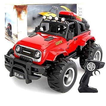 Tracción en las cuatro ruedas Todoterreno inalámbrico remoto Juguete para automóvil, vehículo de escalada resistente