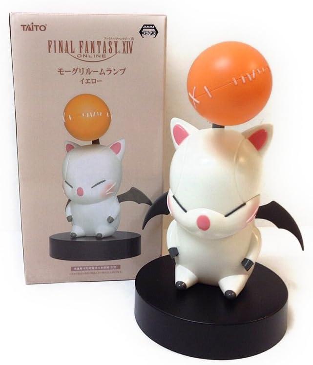 Final Fantasy XIV Moogle Figure room lamp Yellow Taito 7