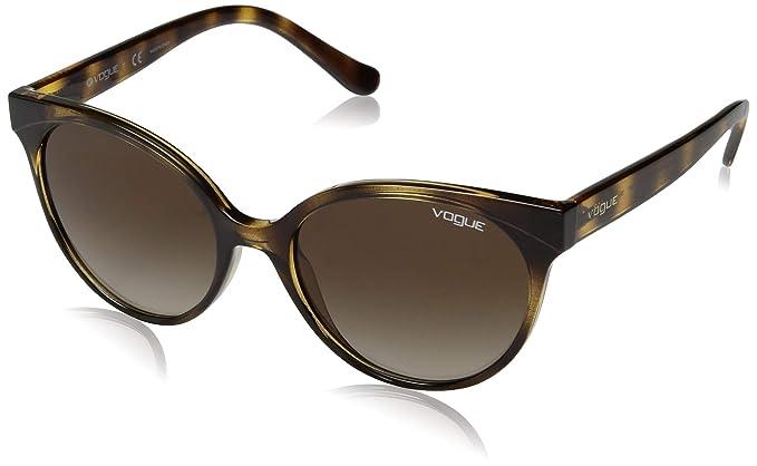 Vogue 0VO5246S Gafas de sol, Dark Havana, 53 para Mujer ...
