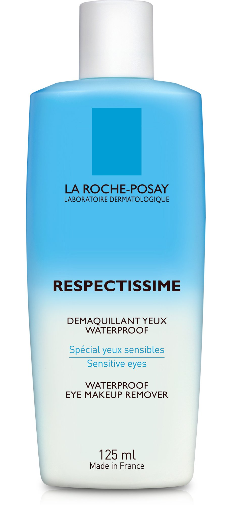 La Roche-Posay Respectissime Waterproof Eye Makeup Remover, 4.2 Fl Oz, Pack of