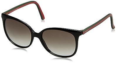 Gucci Sunglasses - 3649 / Frame: Shiny Black Lens: Green Gradient