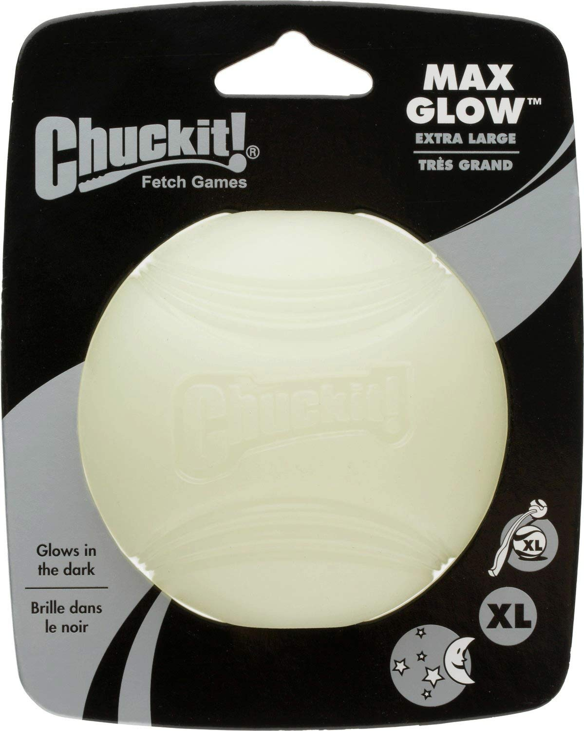 Chuckit! Max Glow Ball Dog Toy, X-Large, 12 Pack by Chuckit! (Image #1)