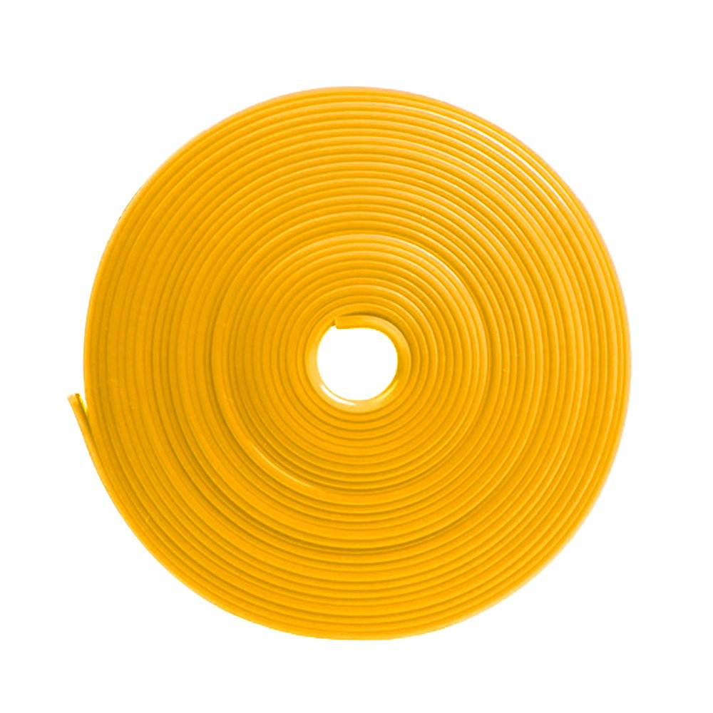 Vococal 8m 26ft Length Car Wheel Hub Edge Ring Rim Protectors Tape Self Adhesive Universal Style Tyre Tire Guard Accessory Orange P201703200015