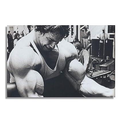 NII Arnold Schwarzenegger Actor Producer Director Young