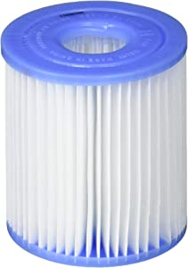 Intex N/AA Replacement 29007E Swimming Pool Filter Cartridge H-6 Pack, White