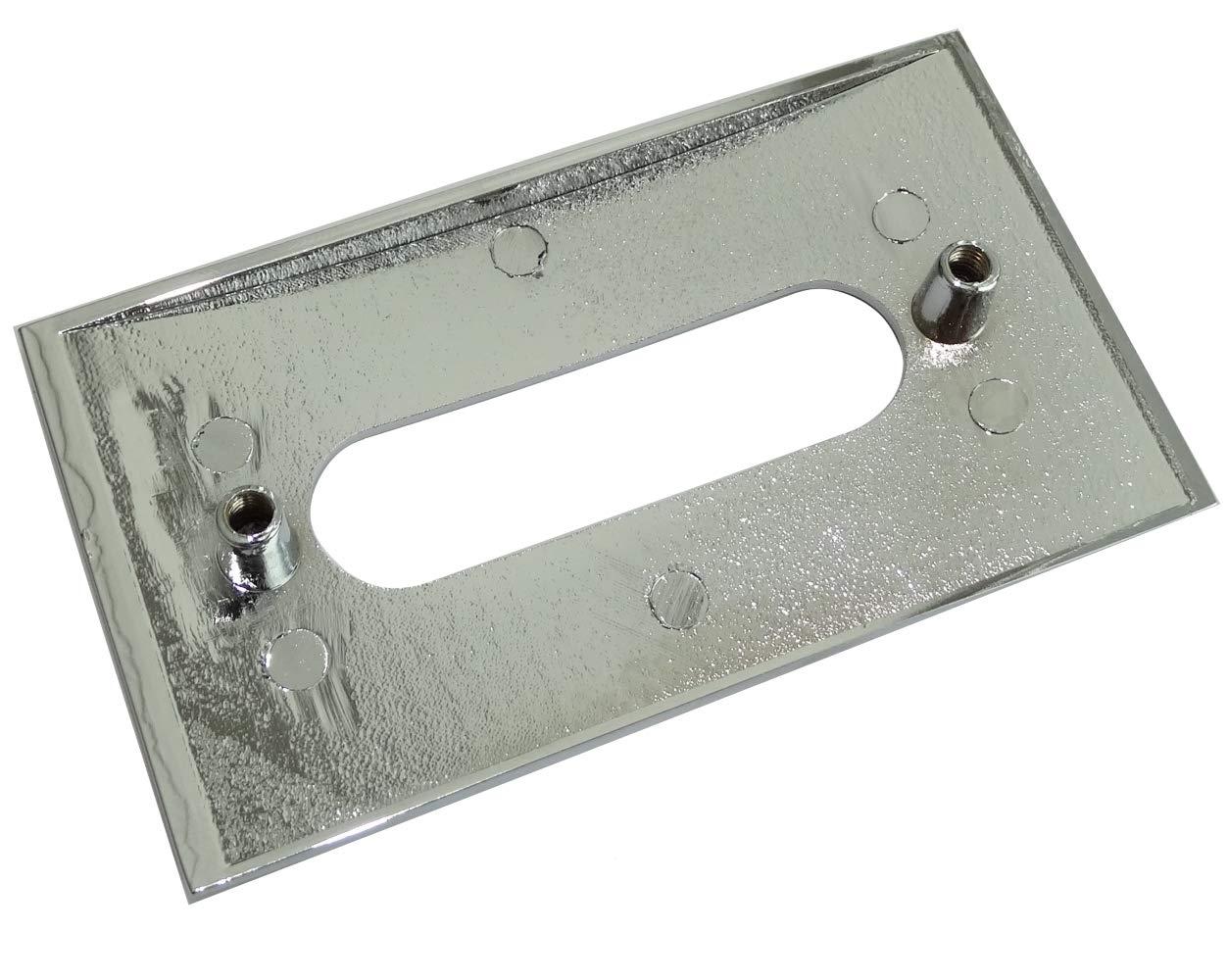 10x Tirador para caj/ón alacena puerta mueble armario Rioni cromo 96mm C41429 AERZETIX