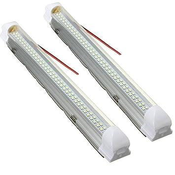 AUDEW 2x 72 LED Innenraumbeleuchtung Auto Lampe Leiste ...