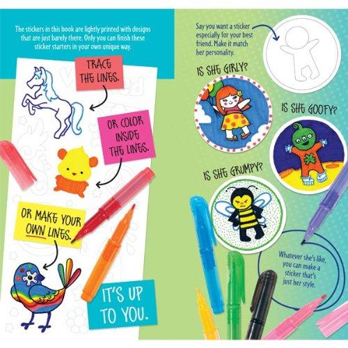 Klutz Sticker Design Studio Create Your Own Custom Stickers Craft - Design your own stickers