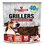 Betsy Farms Beef Chicken Grillers Dog Jerky