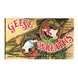 Emson Vintage Geese Wreaths Magnets set of 2 No. 8656