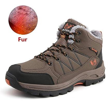 71837c01984 Amazon.com: NiuBuLaio Big Size Men Boots Anti-Skidding Winter Shoes ...