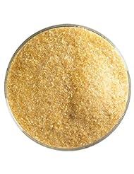 bullseye Frit, Fine, Medium, Amber