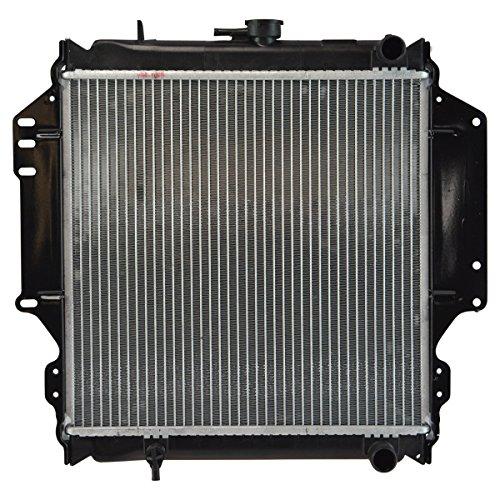 Radiator Assembly Plastic Tanks Aluminum Core Direct Fit for Suzuki Samurai