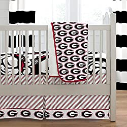 Carousel Designs University of Georgia 3-Piece Crib Bedding Set