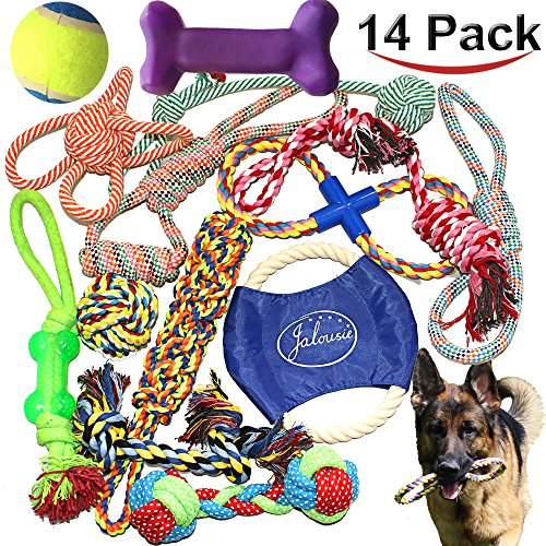Jalousie-Puppy-Chew-Dog-Rope-Toy-Assortment-for-Medium-Large-Breeds
