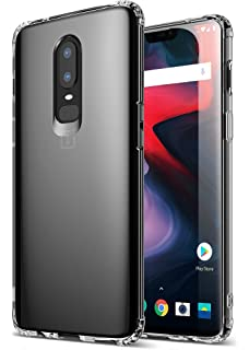 huge selection of c3617 5a6a0 Amazon.com: Ringke [Fusion] Compatible with OnePlus 6 Case Crystal ...