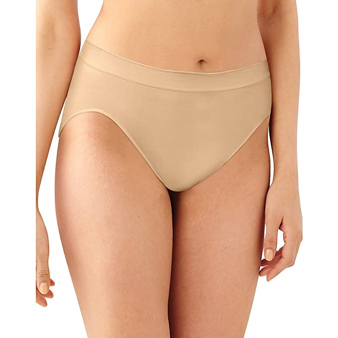 0570a4932 Amazon.com  Barely There Women s Microfiber Hi Cut Panty  Clothing