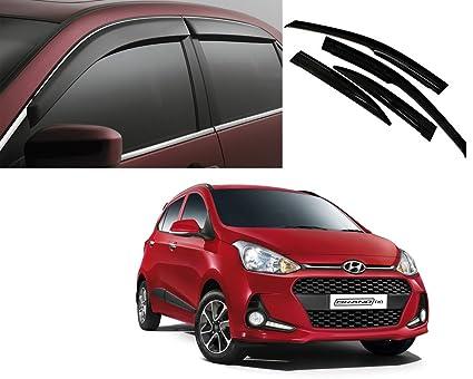 Autopearl Car Rain Wind Door Visor Side Window Deflector for ... 6edcfa949fe