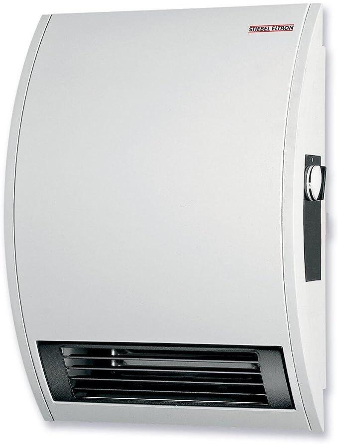 best bathroom heater: Stiebel Eltron 074058 120-Volt 1500-Watts Wall Mounted Electric Fan Heater