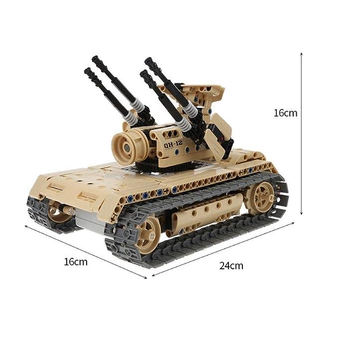Amazon.com: Kit de control remoto de tanque de bricolaje 2.4 ...
