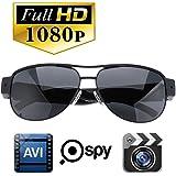 SilverSea™ 1080P HD高画質 メガネ型ビデオカメラ 高解像度スポーツサングラス型 ハイビジョンビデオ&カメラ メガネ 小型カメラ 防犯 録画