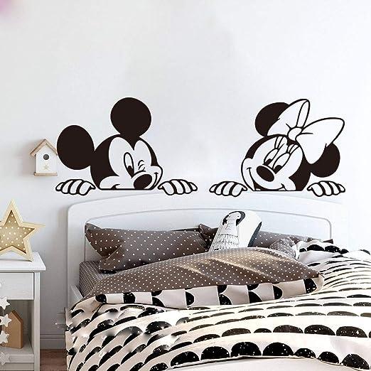 pegatina de pared frases Mickey Mouse Etiqueta de La Pared ...