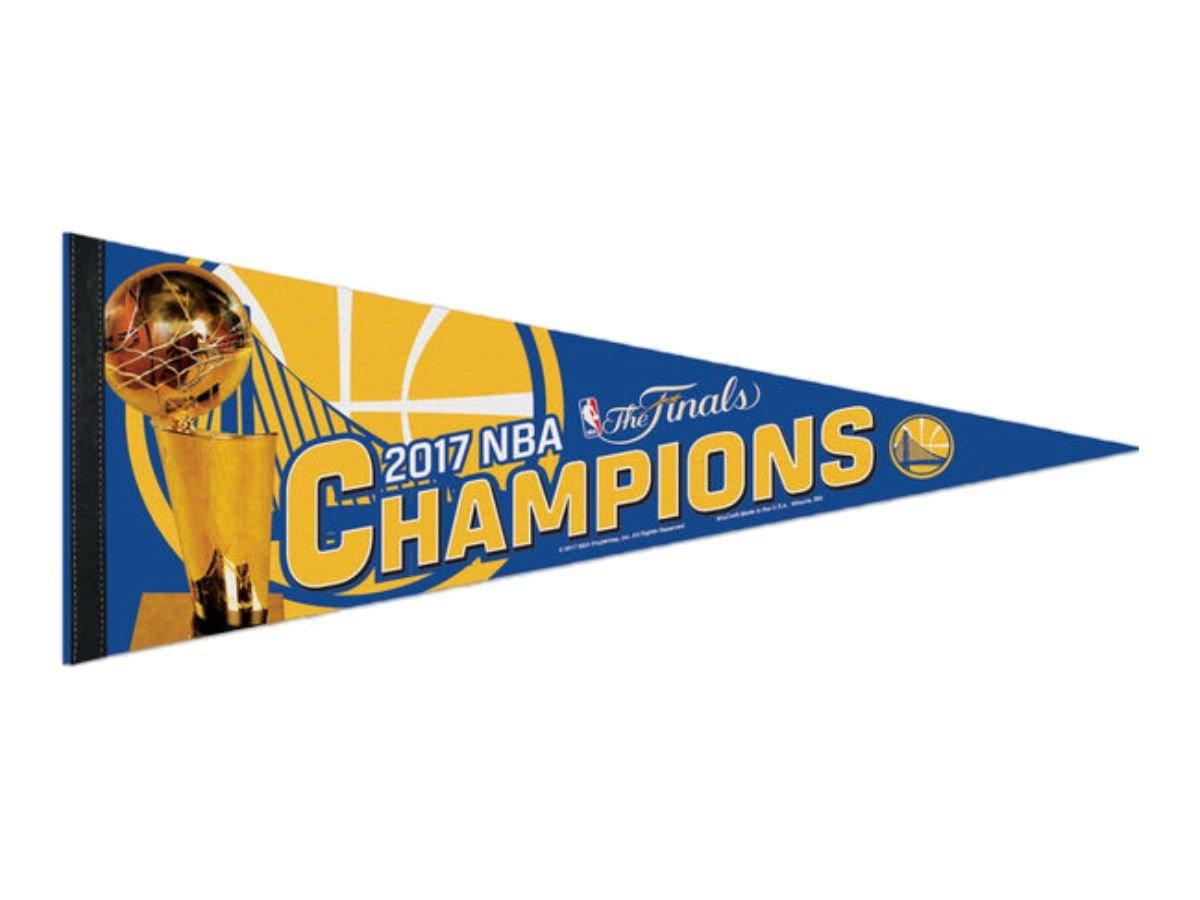 WinCraft Golden State Warriors 2017 NBA Champs Premium Wimpel