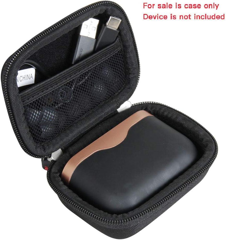 Hermitshell Estuche de Duro para Sony WF-1000XM3 Auriculares True Wireless Noise Cancelling (Negro): Amazon.es: Electrónica