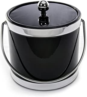 product image for Mr. Ice Bucket Accent Black Ice Bucket, 3-Quart