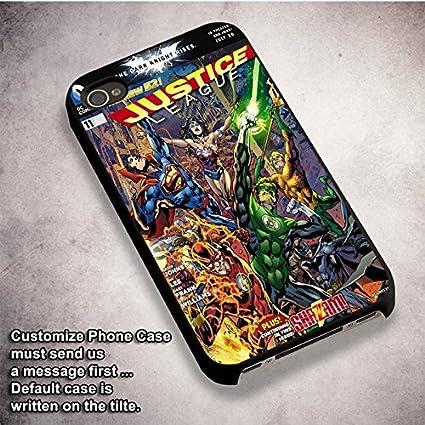 Amazon.com: Unique la Liga de la Justicia para iPhone 6 y ...