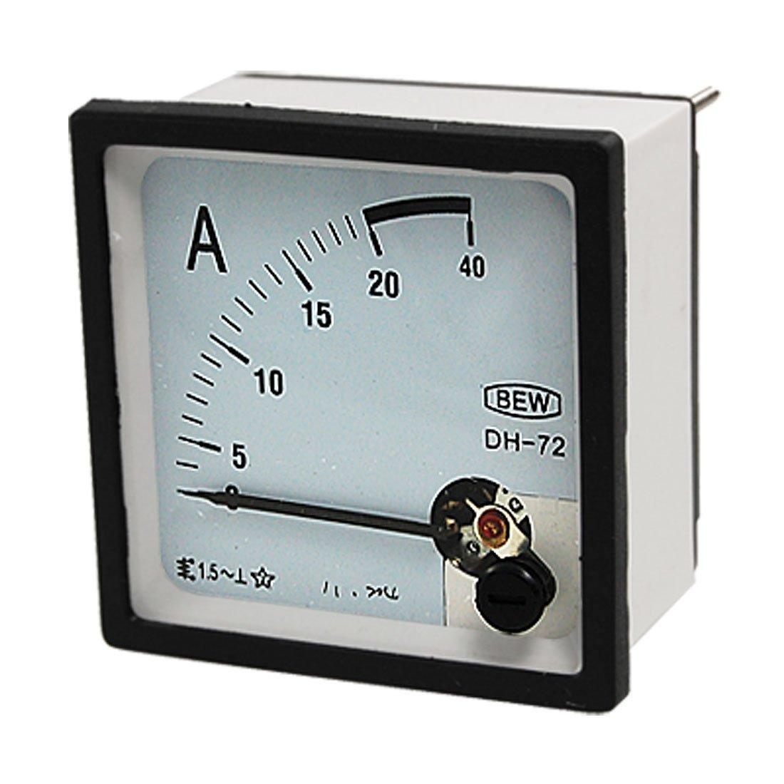 Medidor de amper/ímetro montado en panel Heschen DH 670 DC 10A Class 2.0